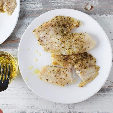 Grilled Tilapia in Herb Olive Oil Recipe | SideChef
