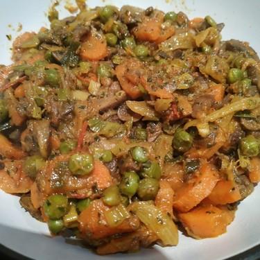 Butter Garlic Mushroom Vegetable Mix Recipe | SideChef