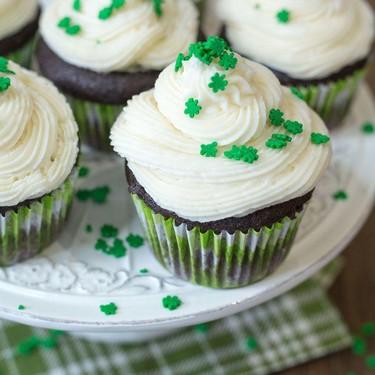 Vegan Guinness Chocolate Cupcakes Recipe   SideChef