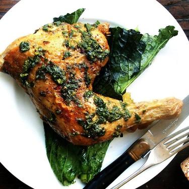 Crispy Chicken with Herb Sauce Recipe   SideChef