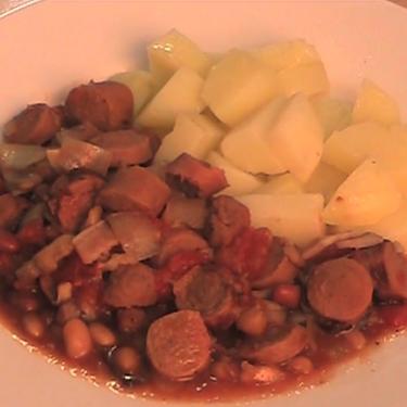 Sausage and Bean Casserole Recipe | SideChef