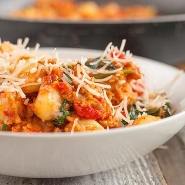 Vegan One Pot Pasta Sausage Gnocchi Recipe | SideChef