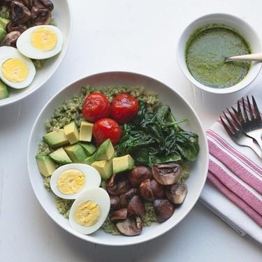 Pesto Quinoa Bowl with Avocado Recipe | SideChef