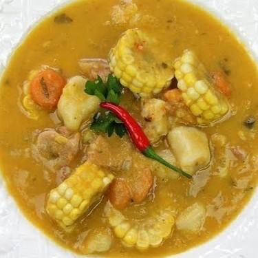 Caribbean Corn Soup Recipe | SideChef