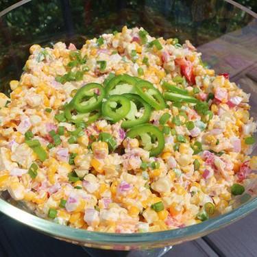 Grilled Corn Salad Recipe | SideChef