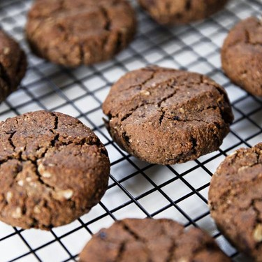 Dark Chocolate and Cherry Breakfast Cookies Recipe   SideChef