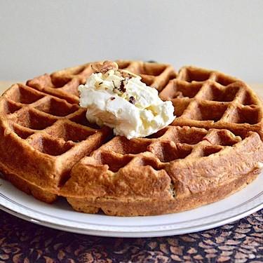 Carrot Cake Waffles Recipe | SideChef