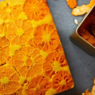 Upside Down Orange Turmeric Cake Recipe   SideChef