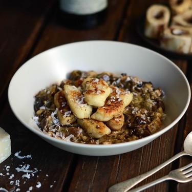 Gnocchi With Bone Marrow And Portobello Mushroom Recipe   SideChef