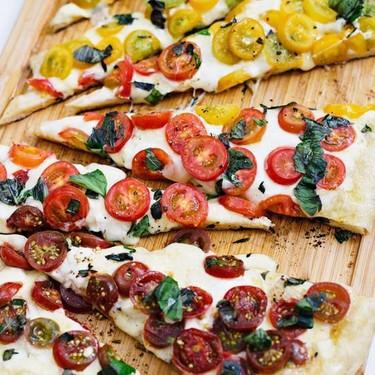 Ombré Margherita Pizza Recipe | SideChef