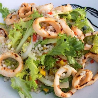 Grilled Calamari Salad Recipe   SideChef