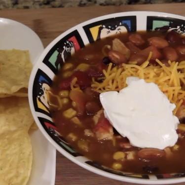 Lazy Man's Chicken Tortilla Soup Recipe | SideChef