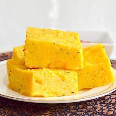 Baked Garlic Herb Polenta Squares Recipe | SideChef