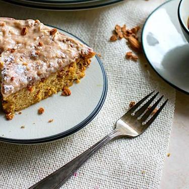 White Chocolate Spiced Almond Cake Recipe | SideChef