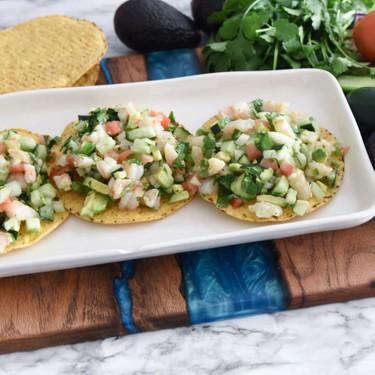 Shrimp Tostadas Recipe   SideChef