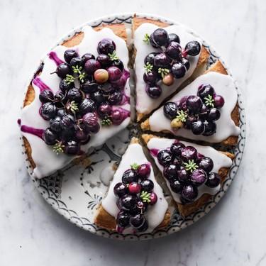 Roasted Grape & Fennel Olive Oil Cake Recipe   SideChef