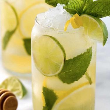 Lemon-Lime Iced Green Tea with Mint Recipe   SideChef