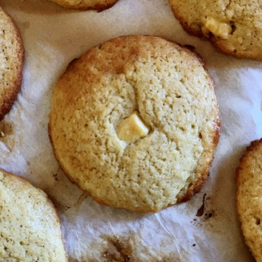Sourdough White Chocolate and Coconut Cookies Recipe | SideChef