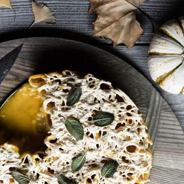 Vegan Cheesy Pumpkin Rigatoni Pie Recipe | SideChef