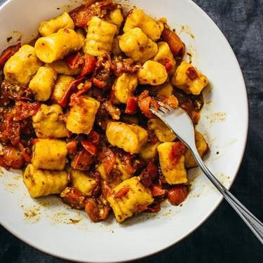 Two-Ingredient Vegan Sweet Potato Gnocchi Recipe   SideChef