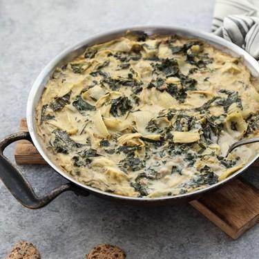 Vegan Creamy Baked Kale Artichoke Dip Recipe | SideChef