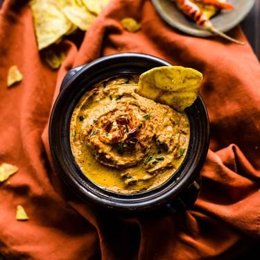 Lucky Chipotle Black Eyed Peas Hummus Recipe | SideChef