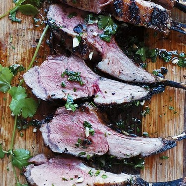Spiced Grilled Rack of Lamb Recipe | SideChef
