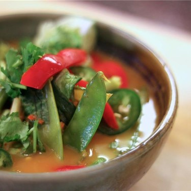 Thai Red Curry Soup Recipe | SideChef