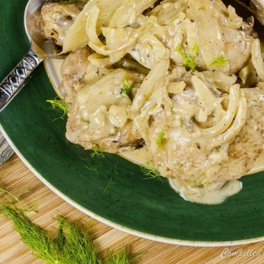 Braised Fennel Chicken Recipe | SideChef