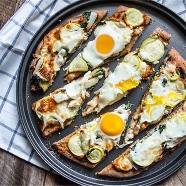 Farmers Market Breakfast Pizza Recipe | SideChef