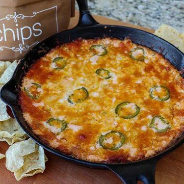 Cheesy Jalapeño Skillet Dip Recipe | SideChef
