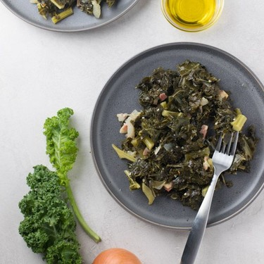 Southern-Style Braised Kale Recipe | SideChef