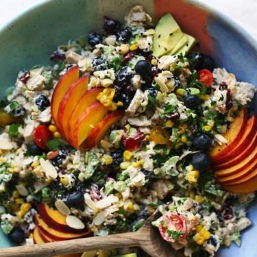 Summer Fruit Chicken Salad Recipe | SideChef