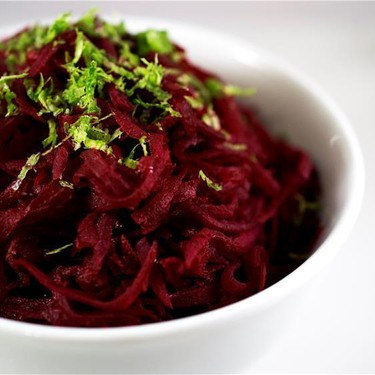 Beets with Lime Butter Recipe   SideChef