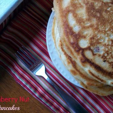 Cranberry Nut Pancakes Recipe | SideChef