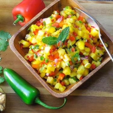 Pineapple and Mango Salsa Recipe   SideChef