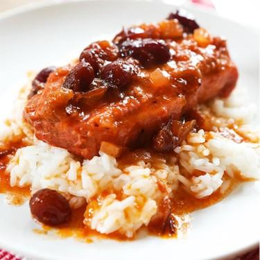 Slow Cooker Cranberry Pork Chops Recipe | SideChef