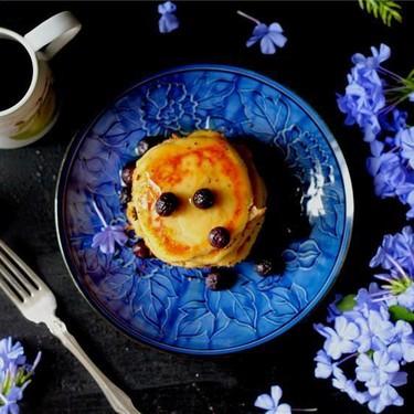 Creamy Cottage Cheese Coconut Pancakes Recipe | SideChef