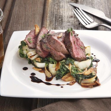 Sirloin Steak with Garlic-Soy Infusion Recipe   SideChef