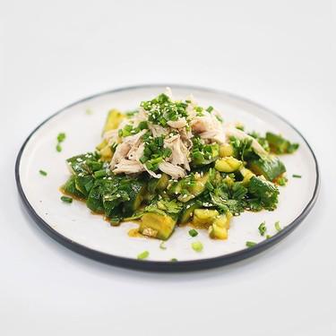 Sesame Chicken & Cucumber Salad Recipe | SideChef