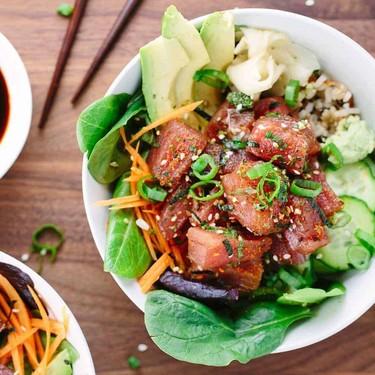 Homemade Ahi Tuna Poke Bowls Recipe | SideChef