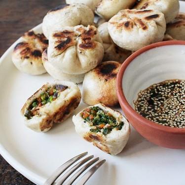 Kale and Mushroom Puff Dumpling Recipe | SideChef