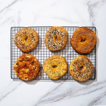 4 Ingredient Bagels Recipe | SideChef