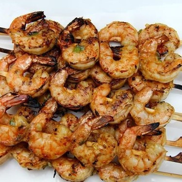 Island-Style Grilled Shrimp Skewers Recipe   SideChef