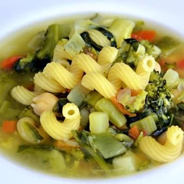 Light Vegetable Soup Recipe | SideChef