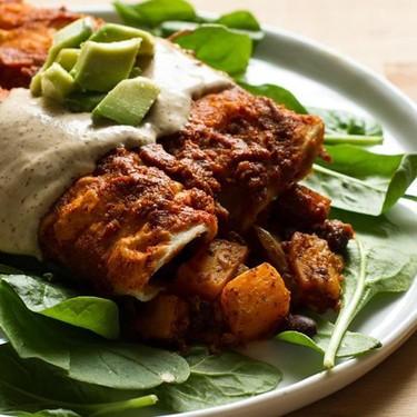 Butternut Squash and Black Bean Enchiladas Recipe   SideChef