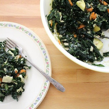 Massaged Kale and Tuna Salad Recipe | SideChef