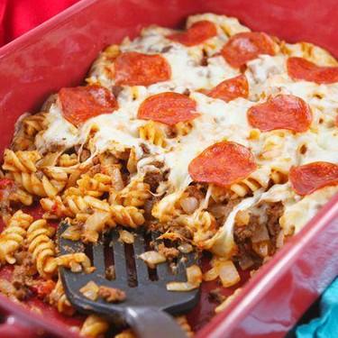 Pizza Pasta Bake Recipe | SideChef
