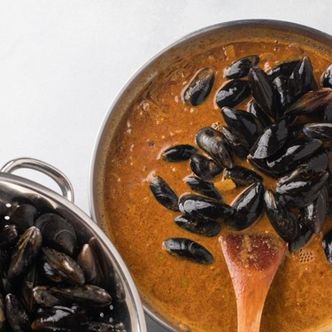 Mussels in Thai-Inspired Curry Recipe   SideChef