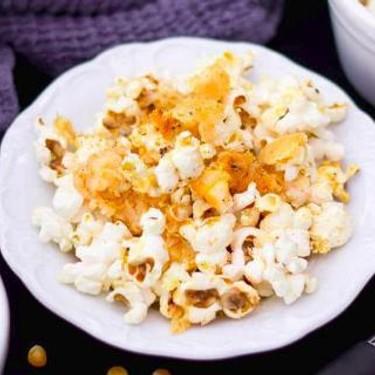 Crunchy Garlic Parmesan Popcorn Recipe   SideChef
